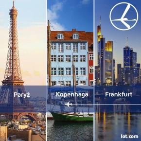 Szalona Środa: Paryż, Frankfurt i Kopenhaga
